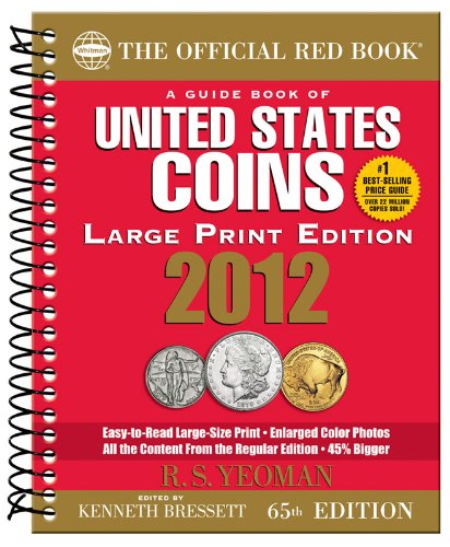 9780794833527: 2012 Guide Book of United States Coins: Red Book (Official Red Book: A Guide Book of United States Coins (Large Print))