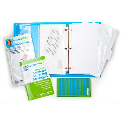 9780794836207: Coupon Mom Organizing Binder - Solid Color