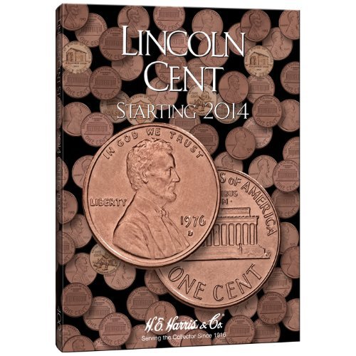 9780794840020: Lincoln Cent Folder #4: H.E. Harris & Co.