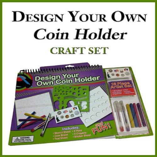 9780794840433: Design Your Own Coin Holder Craft Set