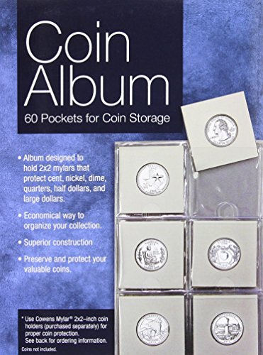 9780794840754: Coin Album: 60 Pockets for Coin Storage