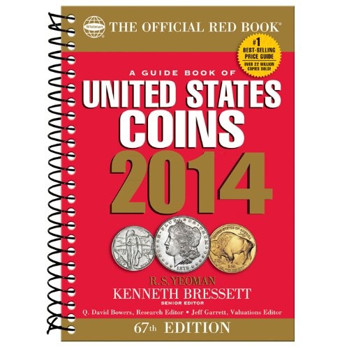 9780794841805: A Guidebook of United States Coins 2014: The Official Red Book (Official Red Book: A Guide Book of United States Coins)