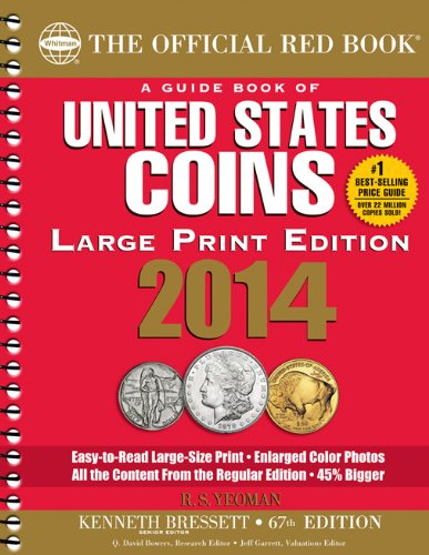 9780794841843: A Guidebook of United States Coins 2014: The Official Red Book (Official Red Book: A Guide Book of United States Coins (Large Print))