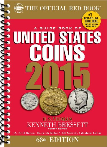 9780794842154: A Guide Book of United States Coins 2015: The Official Red Book Spiral (Official Red Book: A Guide Book of United States Coins (Spiral))