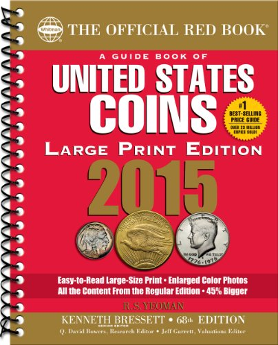9780794842185: A Guide Book of United States Coins 2015: The Official Red Book Large Print