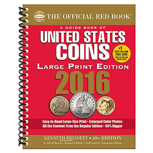 9780794843021: A Guide Book of United States Coins 2016 Large Print