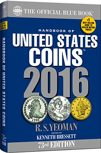 9780794843120: The Official Blue Book Handbook of United States Coins 2016