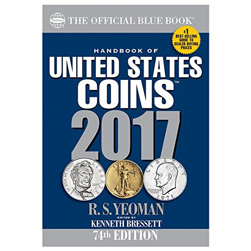 9780794843939: Handbook of United States Coins 2017: The Official Blue Book, Paperbook Edition