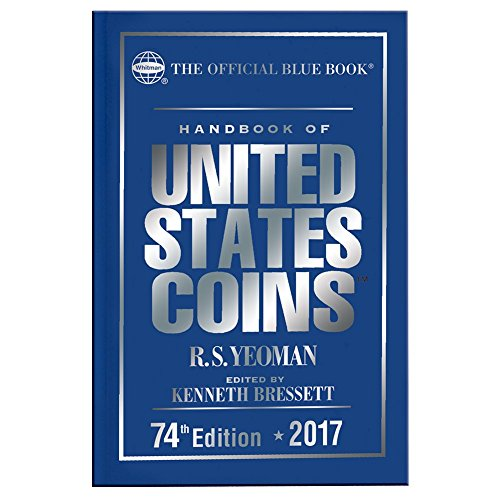 9780794843946: Handbook of United States Coins 2017: The Official Blue Book, Hardcover Edition (Handbook of United States Coins (Cloth))