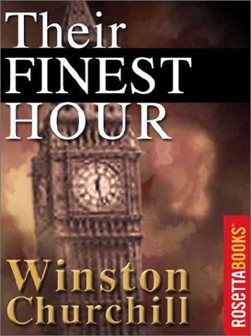 winston churchill their finest hour