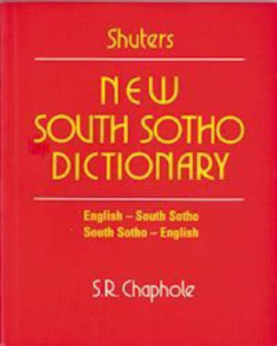 9780796010469: New South Sotho Dictionary: English-South Sotho, South Sotho-English