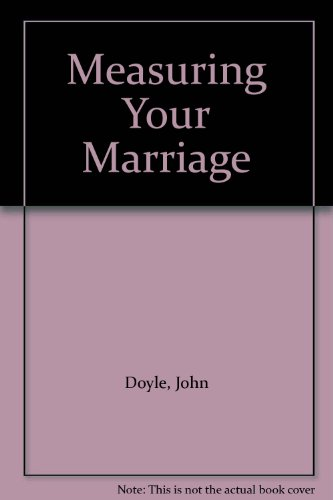 9780796305084: Measuring Your Marriage
