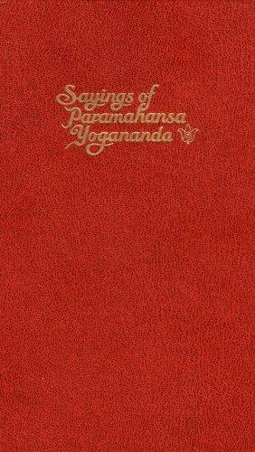 9780796628749: Sayings of Paramahansa Yogananda: The Master Said