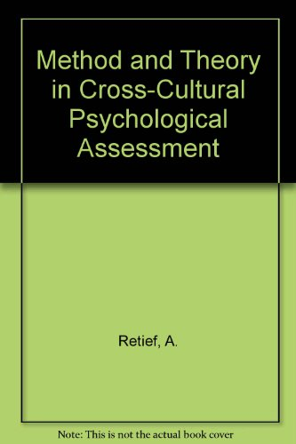 cross cultural assessment of psychological assessment measures
