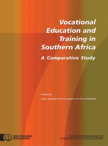 9780796920430: Vocational Education and Training in Southern Africa: A Comparative Study