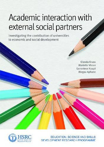 9780796923899: Academic interaction with external social partners: Investigating the contribution of universities to economic and social development