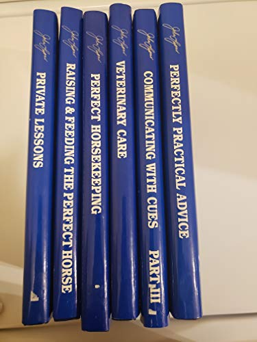 9780797155411: John Lyons' The Making of a Perfect Horse Complete 7 Volume Set (John Lyons Perfect Horse Library Series)