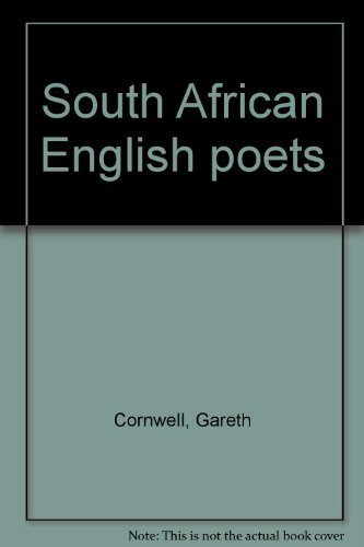 South African English Poets: Cornwall, Gareth (Compiler)