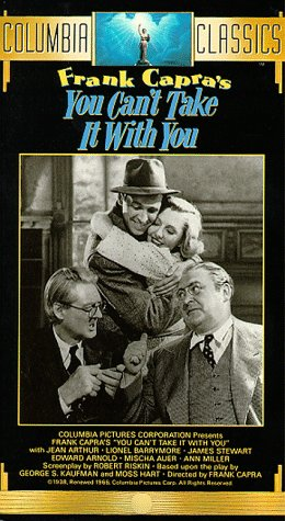 9780800113049: You Can't Take It With You [VHS]