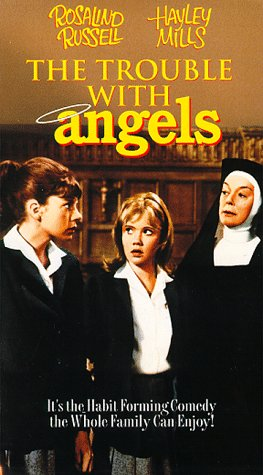 9780800114671: Trouble with Angels [VHS]