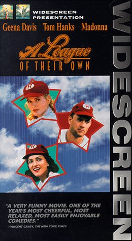 9780800124823: A League of Their Own (Widescreen Edition) [VHS]