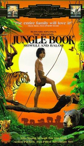 9780800128371: Second Jungle Book [VHS]