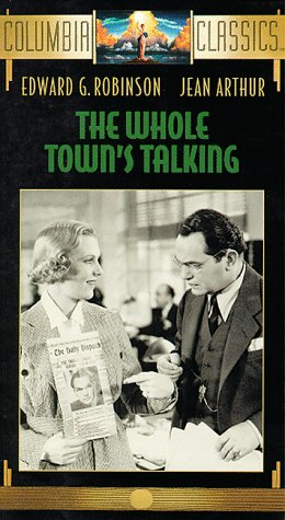 9780800129019: The Whole Town's Talking [Alemania] [VHS]