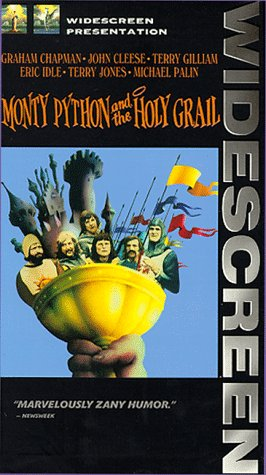 9780800137991: Monty Python and the Holy Grail (Widescreen Edition) [VHS]
