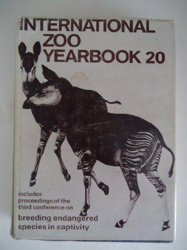 1980 INTERNATIONAL ZOO YEARBOOK: 20: Olney