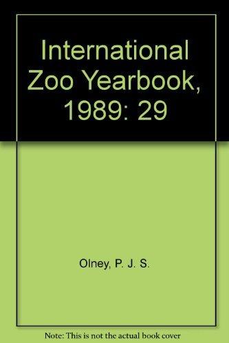 International Zoo Yearbook, Volume 29: P. J. S.