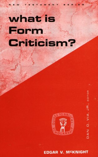 9780800601805: What Is Form Criticism? (Guides to Biblical Scholarship: New Test)