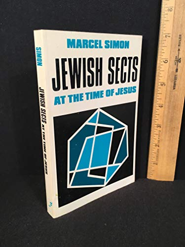 9780800601836: Jewish Sects at the Time of Jesus