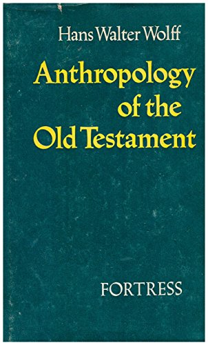 9780800602987: ANTHROPOLOGY OF THE OLD TESTAMENT