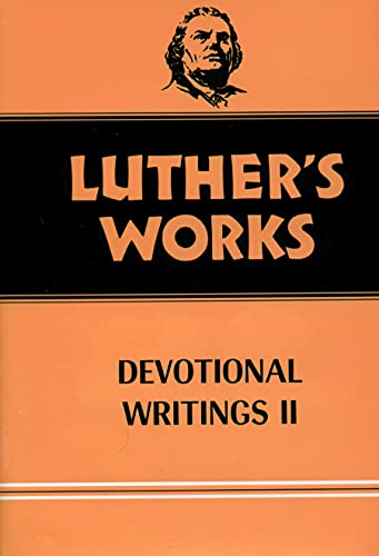 9780800603434: Luther's Works, Volume 43: Devotional Writings II (Luther's Works (Augsburg))