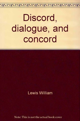 9780800605117: Discord, dialogue, and concord: Studies in the Lutheran Reformation's Formula of concord