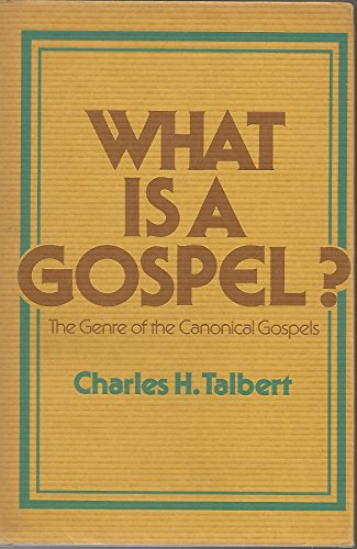9780800605124: What is a Gospel? The Genre of the Canonical Gospels