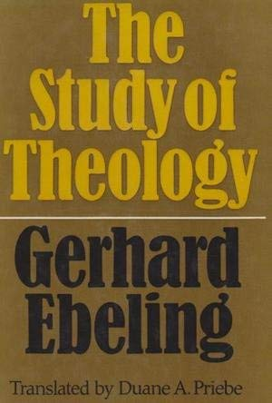9780800605292: Study of Theology