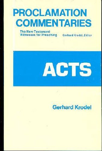 9780800605858: Acts (Proclamation Commentaries)