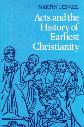 9780800606305: Acts and the History of Earliest Christianity
