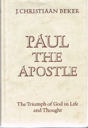 9780800606336: Paul the apostle: The triumph of God in life and thought