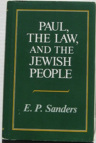 9780800606985: Paul, the Law and the Jewish People