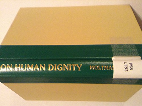 9780800607159: On Human Dignity (English and German Edition)