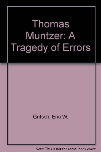 9780800609078: Thomas Muntzer: A Tragedy of Errors