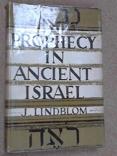 9780800609160: Prophecy in Ancient Israel