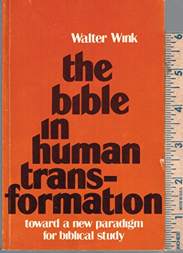 9780800610340: Bible in Human Transformation