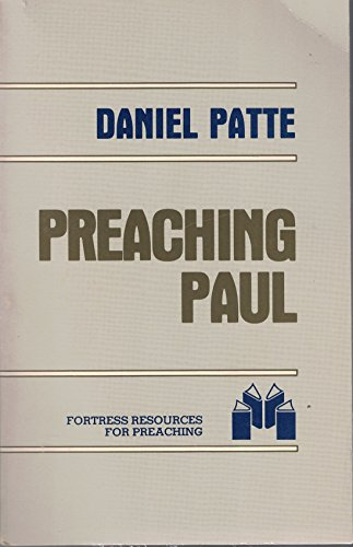 9780800611408: Preaching Paul (Fortress resources for preaching)