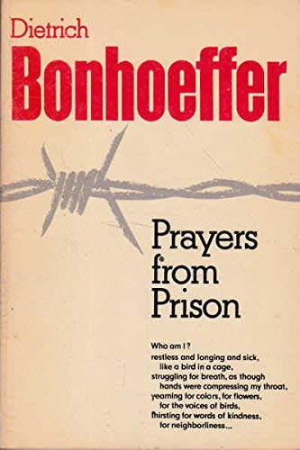 9780800613341: Prayers from Prison: Prayers and Poems (English and German Edition)