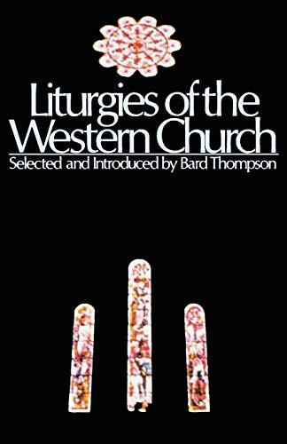 9780800614287: Liturgies of the Western Church