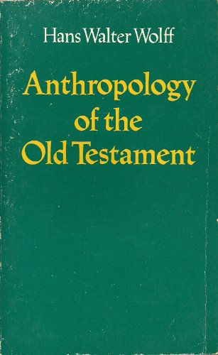 9780800615000: Anthropology of the Old Testament