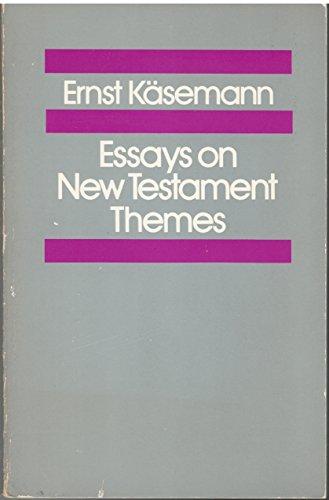 9780800616298: Essays on New Testament Themes
